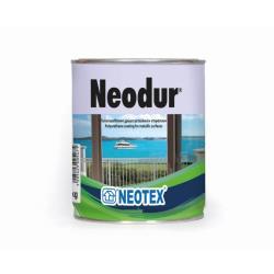 Χρώμα πολυουρεθάνης δύο συστατικών Neodur κυπαρρισί RAL6009 1kg