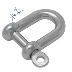 Κλειδί ναυτικό τύπου D AISI 316 22mm