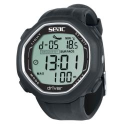 Καταδυτικό ρολόι-υπολογιστής Seac Driver μαύρο