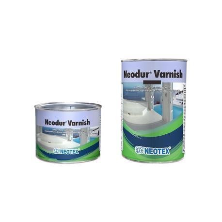 Βερνίκι πολυουρεθάνης Neodur Varnish A+B 1kg Neotex_e-sea.gr
