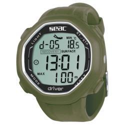 Καταδυτικό ρολόι-υπολογιστής Seac Driver πράσινο