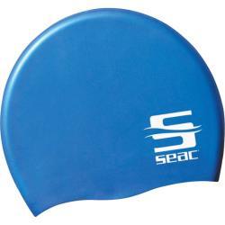 Σκουφάκι κολύμβησης σιλικόνης Seac μπλε_e-sea.gr