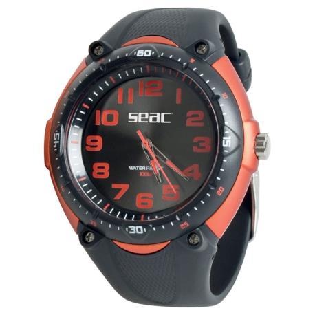 Ρολόι αδιάβροχο Mover Seac κόκκινο/μαύρο_e-sea.gr