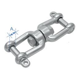 Στριφτάρι με 2 Κλειδιά Inox 316 16mm