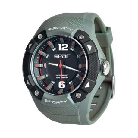 Ρολόι αδιάβροχο Sporty Seac πράσινο στρατιωτικό_e-sea.gr