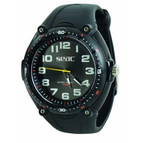 Ρολόι αδιάβροχο Mover Seac μαύρο_e-sea.gr