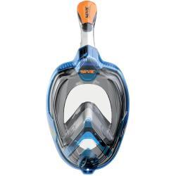 Μάσκα full face Magica Seac μπλε/πορτοκαλί L/XL