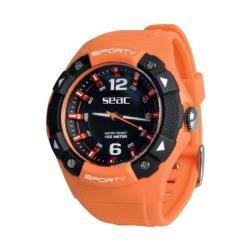Ρολόι αδιάβροχο Sporty Seac πορτοκαλί