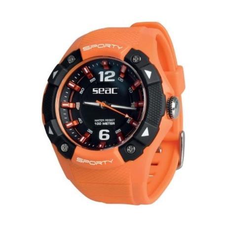 Ρολόι αδιάβροχο Sporty Seac πορτοκαλί_e-sea.gr
