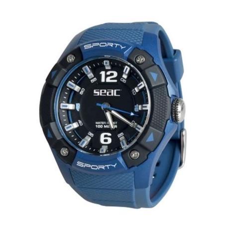 Ρολόι αδιάβροχο Sporty Seac μπλε_e-sea.gr