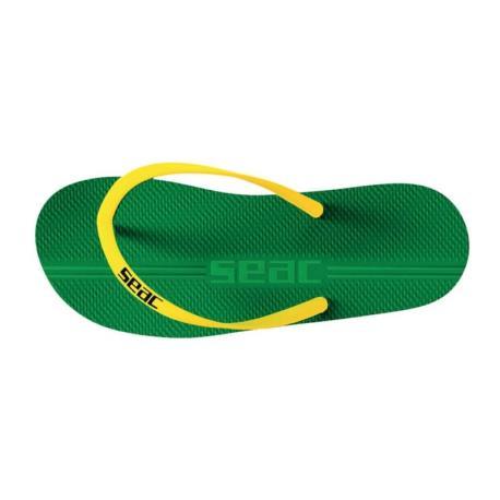 Σαγιονάρες Seac Maui πράσινο/κίτρινο_e-sea.gr