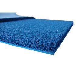 Ταπέτο με υπόστρωμα, PVC - μπλε - πλάτος: 120cm