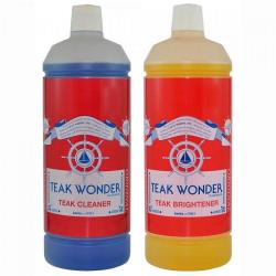 Σετ καθαριστικό & γυαλιστικό για Teak 2x1lt Teak Wonder