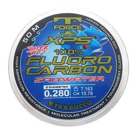 Πετονιά fluorocarbon XPS Saltwater 50m Trabucco_e-sea.gr
