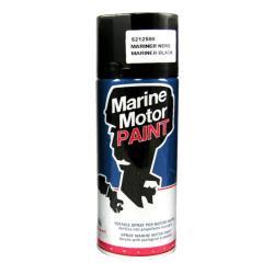 Χρώμα σπρέι Mariner Μαύρο 400ml Osculati