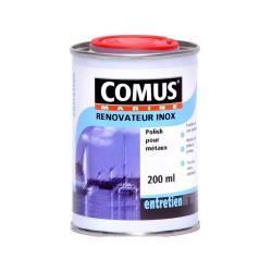 Καθαριστικό-γυαλίστικό inox & μετάλλων 200ml Comus