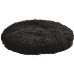 Δίσκος γούνινος Premium μαύρος 150mm Etalon