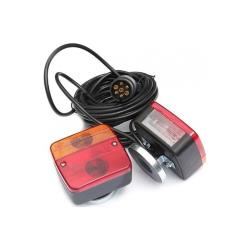 Φώτα τρέιλερ με μαγνήτη & 7m καλωδιο_e-sea.gr
