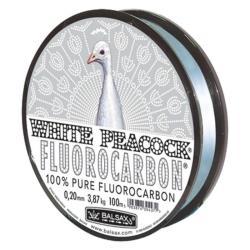 Πετονιά 100% fluorocarbon White Peacock 2400 Balsax