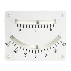 Κλινόμετρο πλαστικό δύο κλιμάκων 10.1 x 8.26cm AAA_e-sea.gr