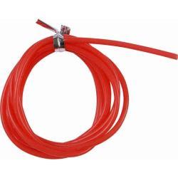 Σωληνάκι σιλικόνης κόκκινο 0.7mmX1m Kali