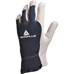 Γάντια εργασίας δέρμα/ζέρσει CT402BL Delta Plus