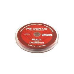 Νήμα οκτάκλωνο 100% PE 0.40mm 200m κόκκινο Black Diamond