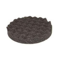 Σφουγγάρι γυαλίσματος Premium ανάγλυφο μαύρο μαλακό 150X25mm ET1502505n Etalon