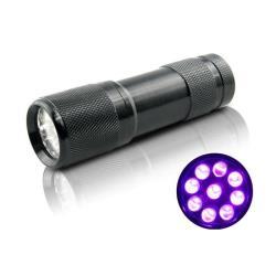 Φακός UV 9led για τεχνητά δολώματα Black Diamond
