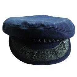 Υδραίικο καπέλο χειροποίητο μπλε medium_e-sea.gr