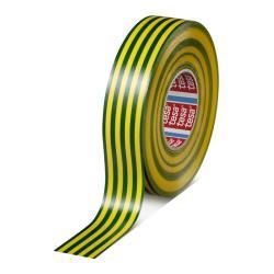 Ταινία ηλεκτρικής μόνωσης tesaflex 53948 πράσινη/κίτρινη Tesa_e-sea.gr
