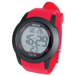 Καταδυτικό ρολόι Chronos κόκκινο 147-4R Seac