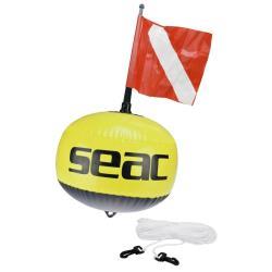 Σημαδούρα σφαιρική φωσφορίζουσα κίτρινη 189/B Seac
