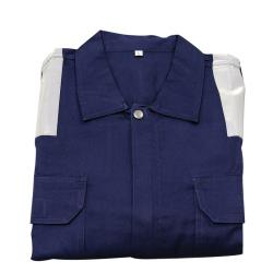 Φόρμα εργασίας σκούρα μπλε βαμβακερή 200gsm Lalizas