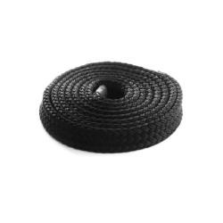 Σχοινί Flat Line μαύρο 14mm