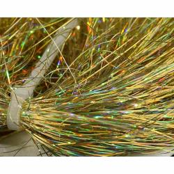Συνθετικές ίνες Saltwater Angel Hair hoographic gold Sybai_e-sea.gr