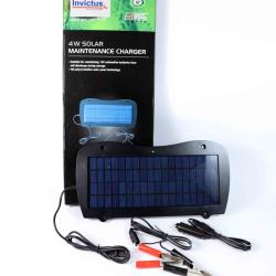 Φωτοβολταϊκός συντηρητής μπαταρίων 12V TPS-4W Invictus