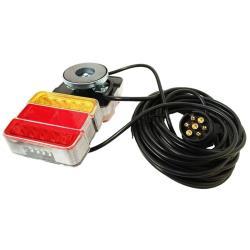 Φώτα τρέιλερ led με μαγνήτη 7m καλωδιο JH105-B_e-sea.gr