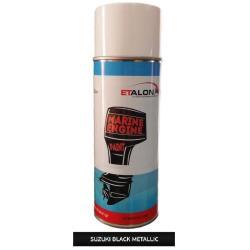 Χρώμα σπρέι Suzuki μαύρο μεταλλικό 400ml Etalon