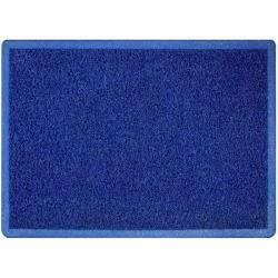 Πατάκι υποδοχής χωρις υπόστρωμα PVC μπλε 60X90cm_e-sea.gr