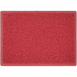 Πατάκι υποδοχής χωρις υπόστρωμα PVC κόκκινο 60X90cm