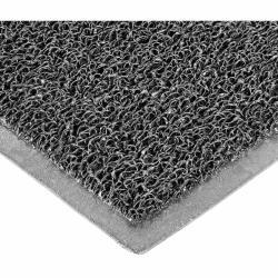 Πατάκι υποδοχής χωρις υπόστρωμα PVC γκρι σκούρο 60X90cm