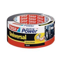 Ταινία υφασμάτινη EXTRA POWER tesa 50mmX25m μαύρη