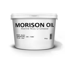 Γράσσο θαλάσσης μπλε NLGI 2 900 gr Morison Oil