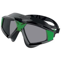 Γυαλάκια-μασκάκι κολύμβησης Sonic μαύρο πράσινο Seac