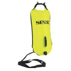 Σημαδούρα κολύμβησης κίτρινη Safe Dry 95-19Y/28 Seac