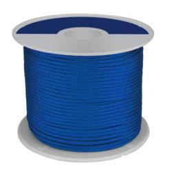Σχοινί πλεκτό πολυεστερικό μπλε 2mm 30m Trem_e-sea.gr