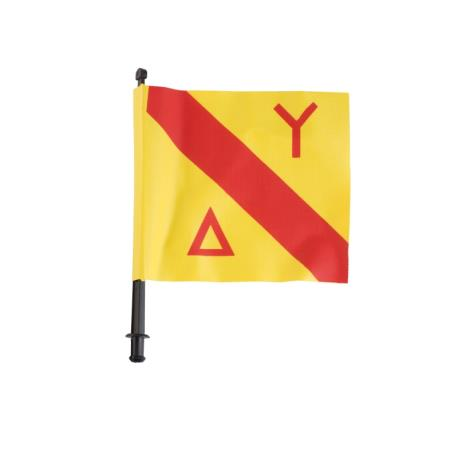 Σημαία Σημαδούρας Seac Κίτρινη_e-sea.gr