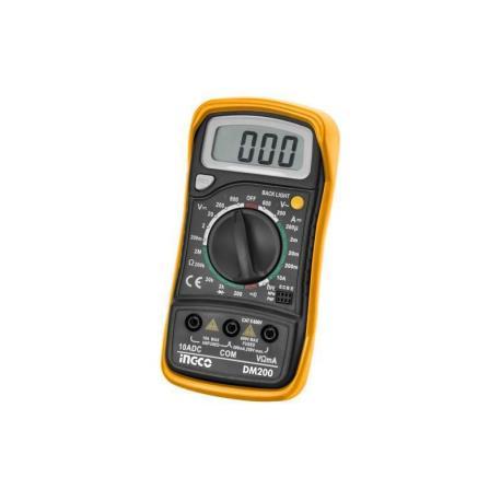 Πολύμετρο ηλεκτρονικό DM200 Ingco_e-sea.gr