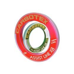 Νήμα assist δεσίματος αγκιστριών Carbotex X8 10m